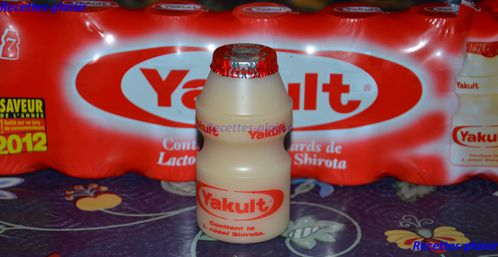 yakult bouteille
