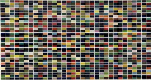 1024 couleurs Gerhard Richter