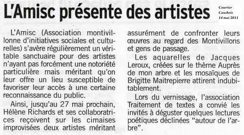 article presse AMISC 14 05 2011