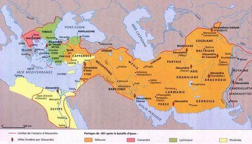 4 empires grecs