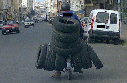 Porteur de pneus n°4 Casablanca