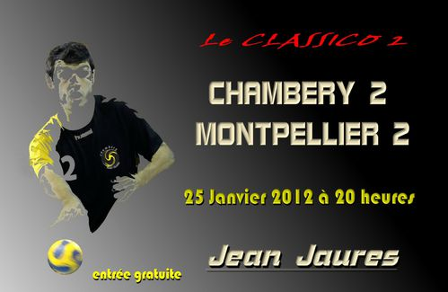 le bloc annonce N1 CHAMBERY MONTPELLIER 25 01 2012