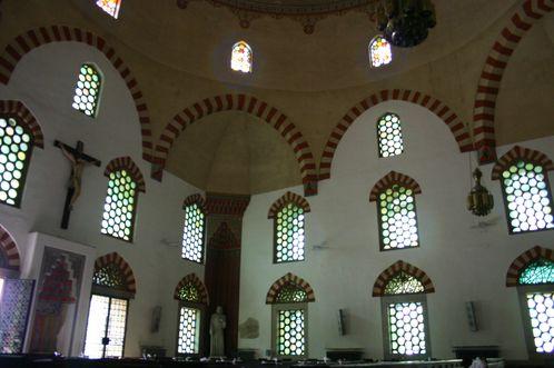 intérieur de la grande mosquée de pecs