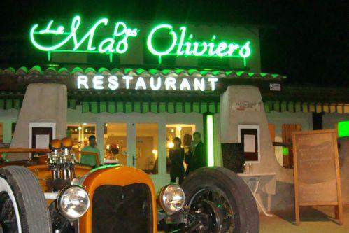 Le Mas des Oliviers Nice restaurant