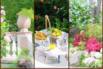 Hôtel Armenonville Nice jardins
