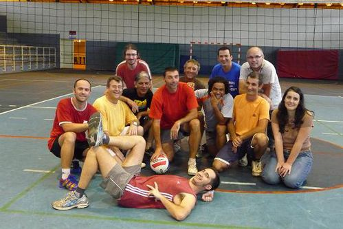 equipe collegues volley 1