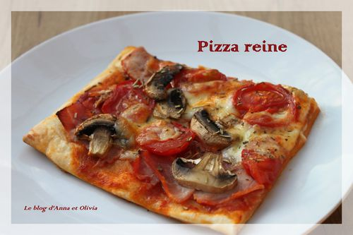 Pizza reine - une part