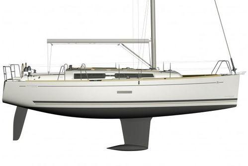 voilier Dufour 335 GL de profil