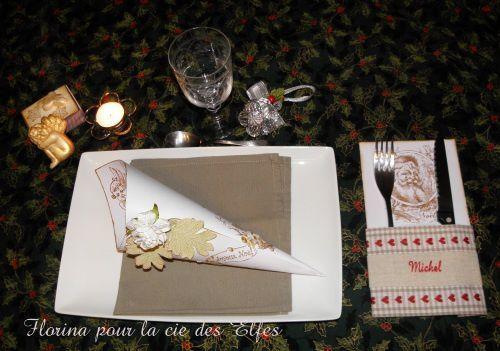 porte couvert sur la table