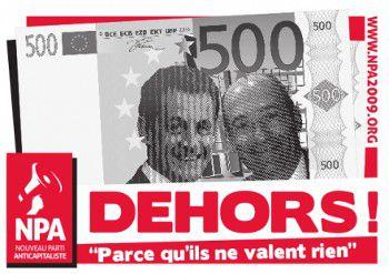 Affiche Woerth Sarkozy
