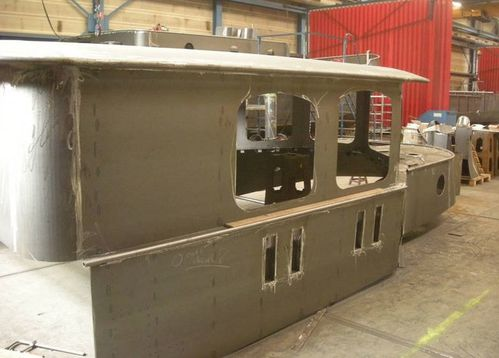 superstructure aquanaut-vintage en construction