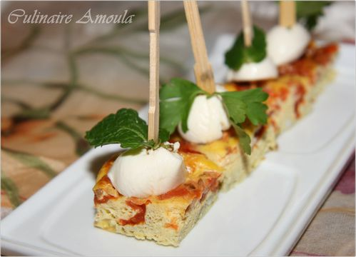 bouchées omlettes