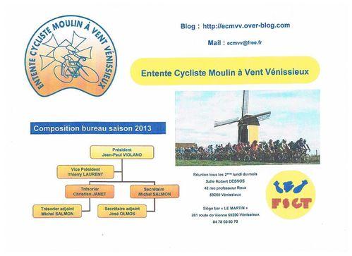 Organigramme ECMVV 2013