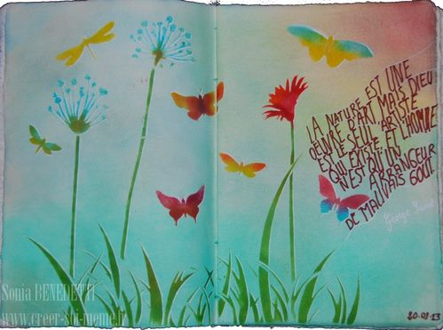 journal art sonia 20-01-13 - nature et art