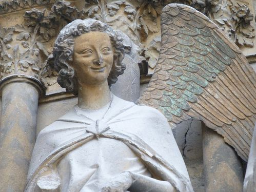 Reims autre ange riant - reduc