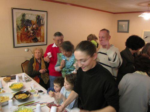 Apéritif des voisins le 11/12/2009