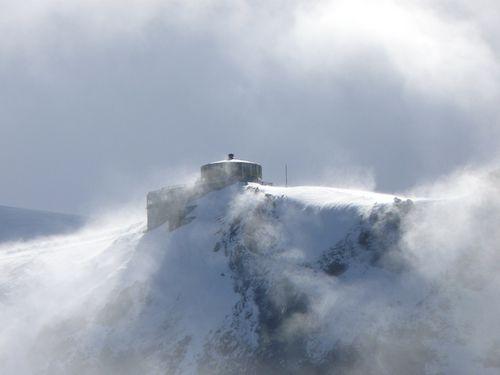 Mittelallalin tempête de neige