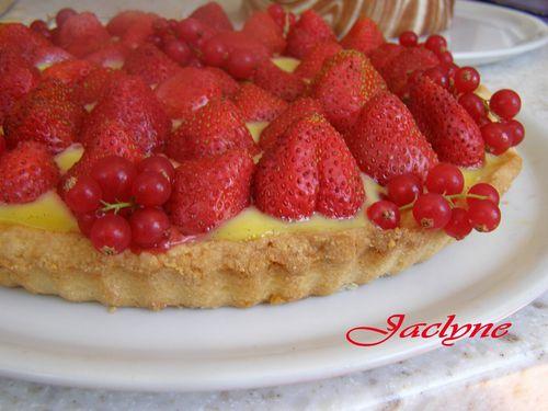 tarte aux fraises de Jaclyne