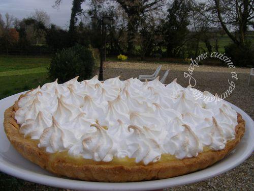 Tarte clémentine_citron meringuée Jaclyne cuisine et gourmandise