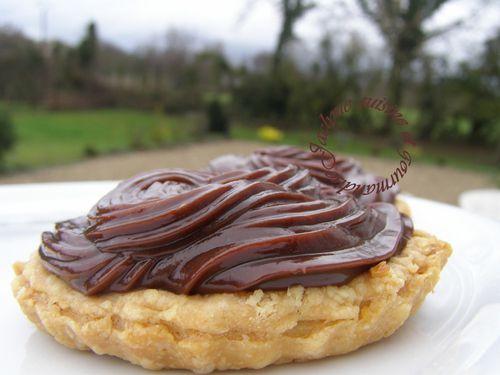 Tartelette 2 chocolats pâte feuilletée saveur poivre long noir Jaclyne