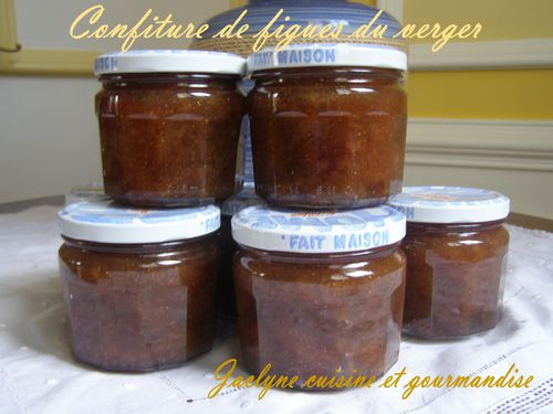 Confiture de figues du verger