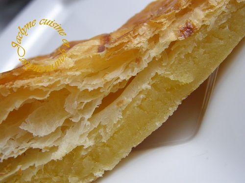 galette des rois 2012 frangipane Pâte feuilletée rapide Jaclyne cuisine et gourmandise