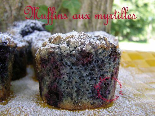 Muffins aux myrtilles Rapide et délicieux, vous allez vous régaler ♥ Jaclyne cuisine et gourmandise