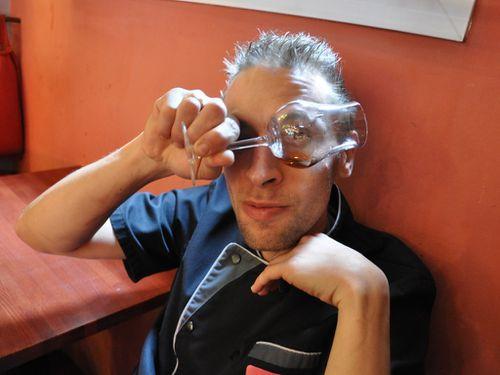 David Drai chef du restaurant L'Ardoise