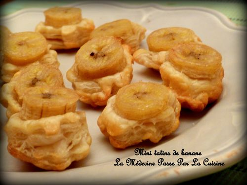 mini tatin banane