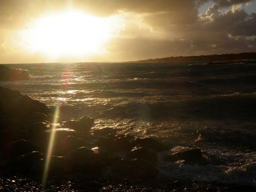 le soleil après la tempête
