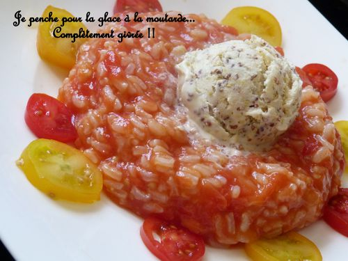 risotto tomate glace moutarde 2