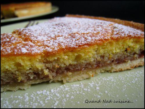 tarte amandine à la confiture1
