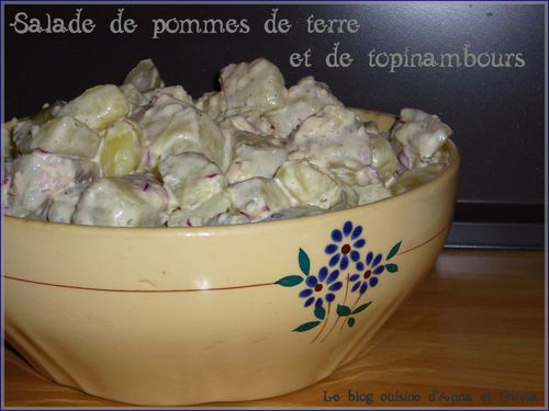 salade pdt topinambours