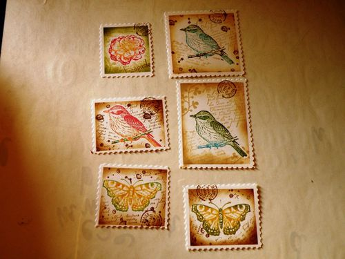 Faux timbres