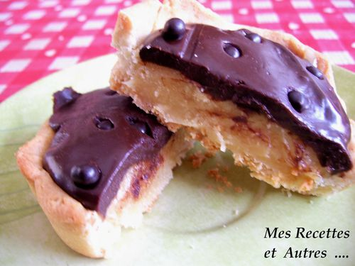 tartelette chocolat caramel #