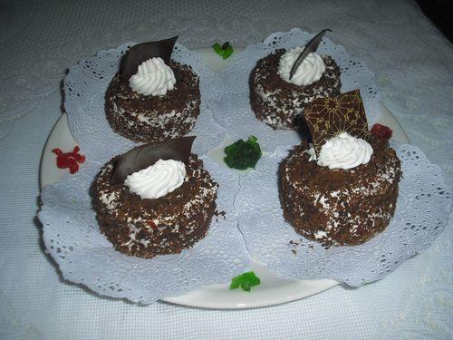 mini tarte chocolat