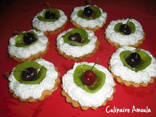 tarte kiwi