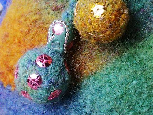Patchwork-Boule-Laine