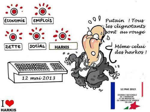 Hollande et les harkis 2