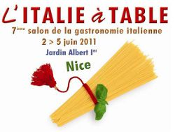 L'Ialie à table Nice 2011