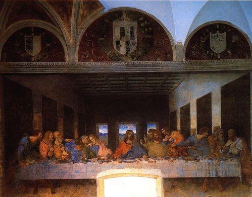 1495 1498 Léonard de Vinci La Cène