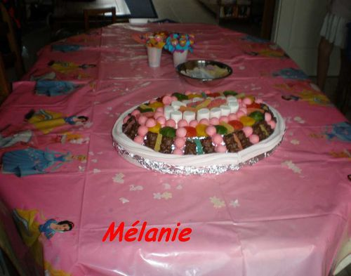 table anniversaire audray