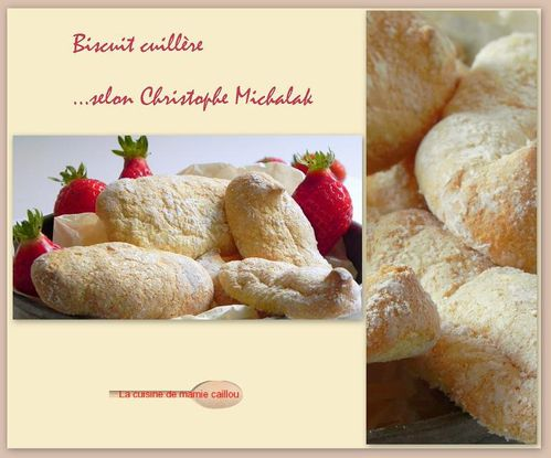 biscuit cuillère selon C M