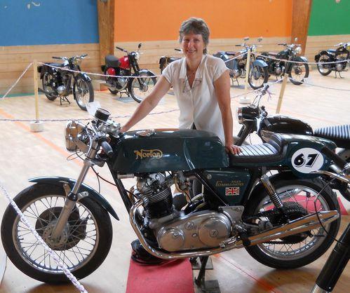 Expo Histoire de Moto La Fouillade 7