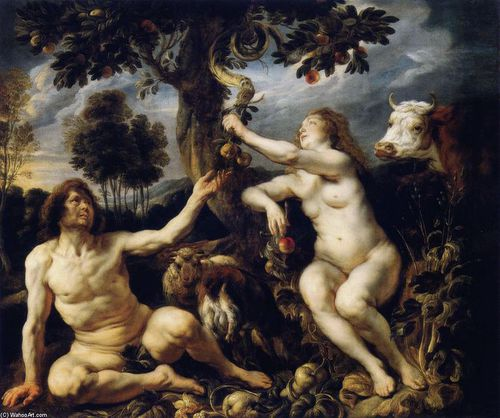 Jacob-Jordaens-The-Fall-of-Man-2-