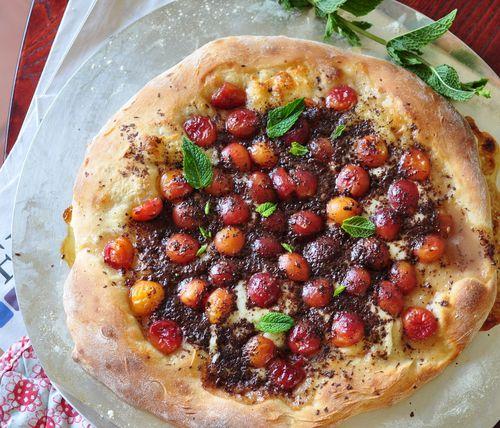 Pizza aux cerises (17)
