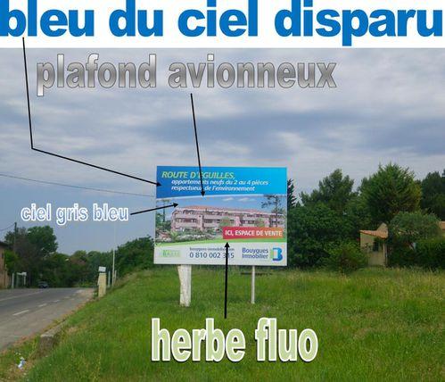 Salon du Bourget affiche immobilier