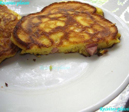 pancakes jambon