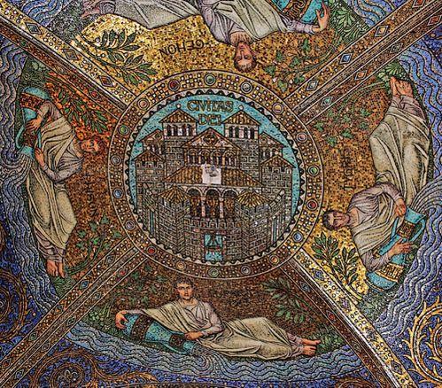 mosaicos techo