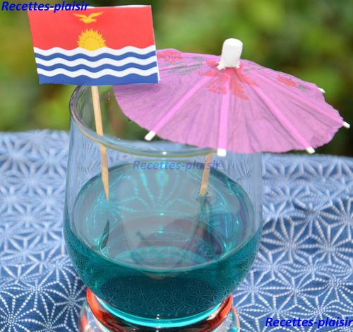 blues cocktail kiribati